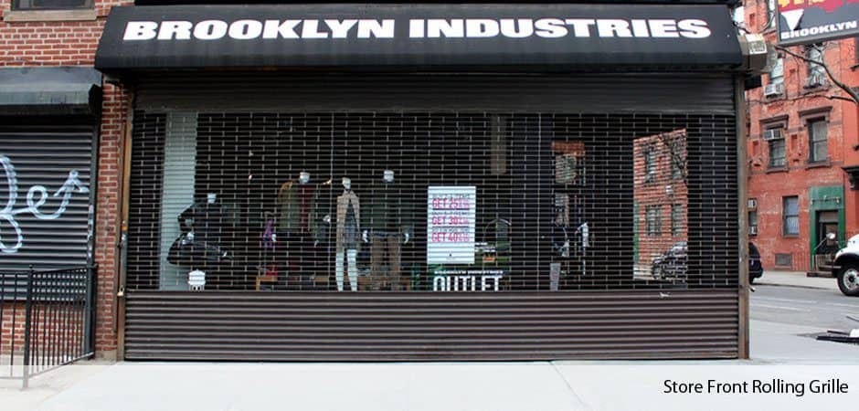 Roll Up Amp Roll Down Gates Nyc New York Gates