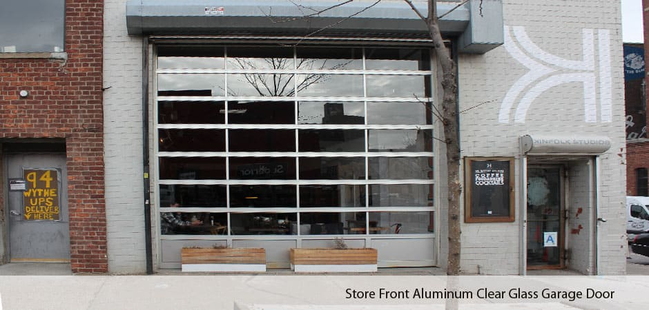 Aluminum Glass Garage Doors In Nyc New York Gates