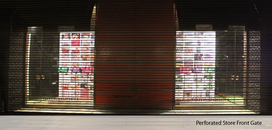 Perforated-Store-Front-Gate