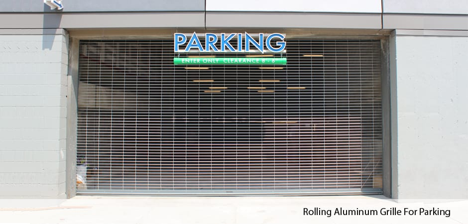 Rolling-Aluminum-Grille-For-Parking