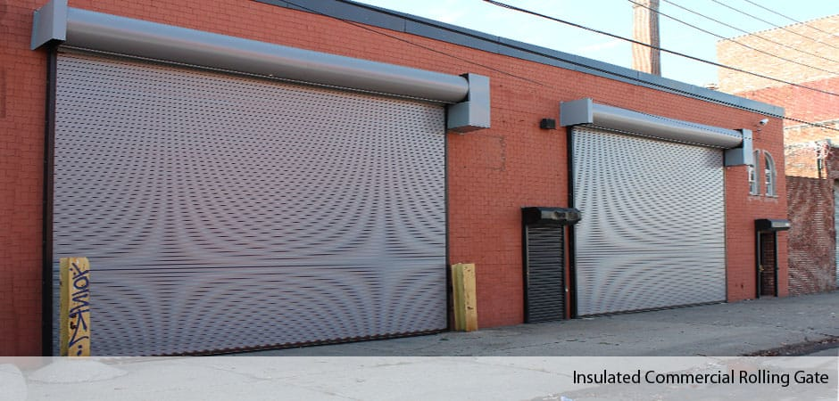 Insulates-Rolling-Steel-Gates