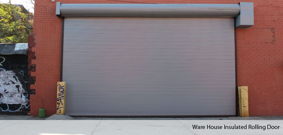 Etonnant Ware House Insulated Rolling Door