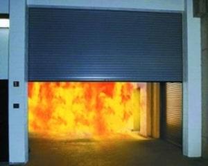 Auto fire shutters