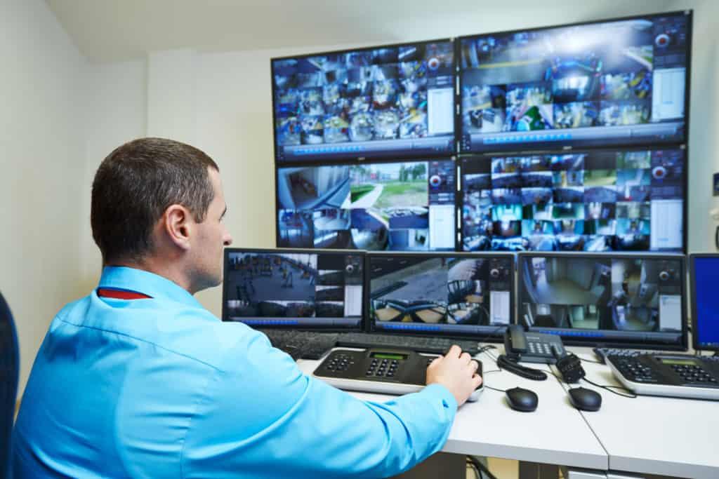 Security video surveillance