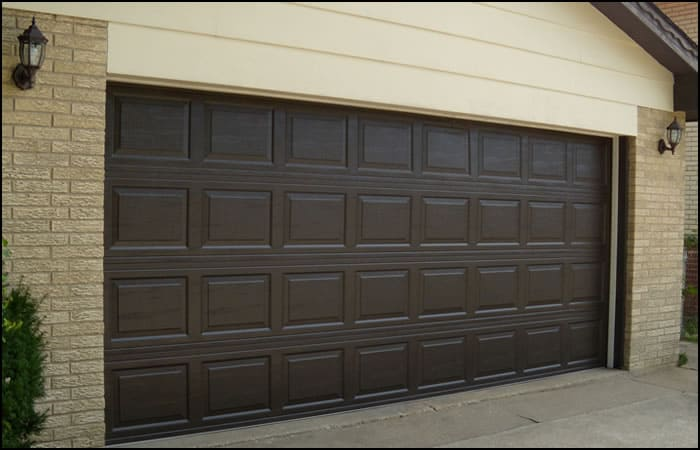 Brown Garage Doors With Windows how to choose the right garage door for your home