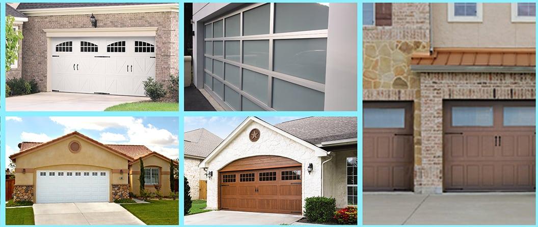 Residential Garage Door Styles and Materials