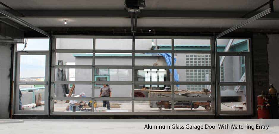 Aluminum Glass Garage Doors In Nyc New York Gates