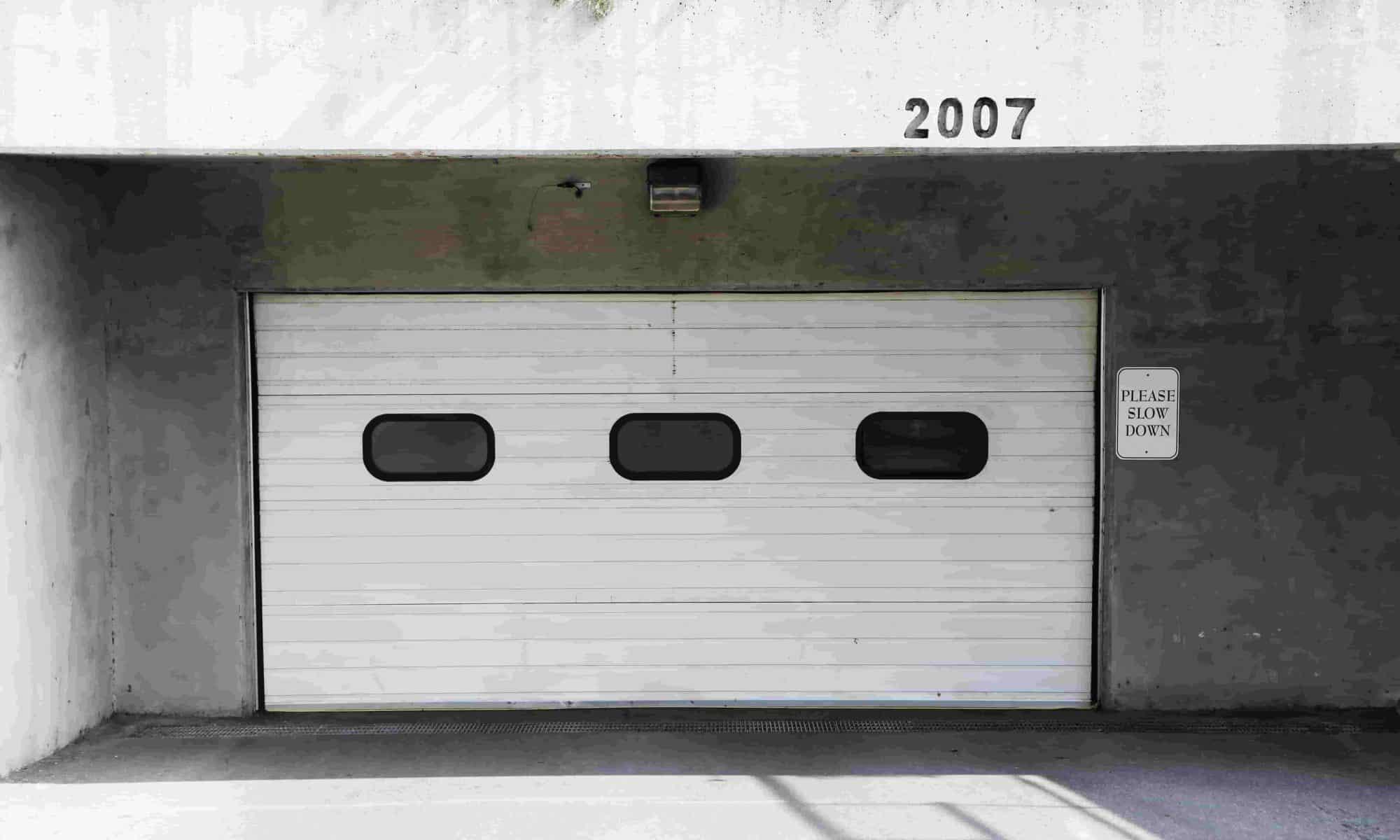Fixing a Bent Garage Door